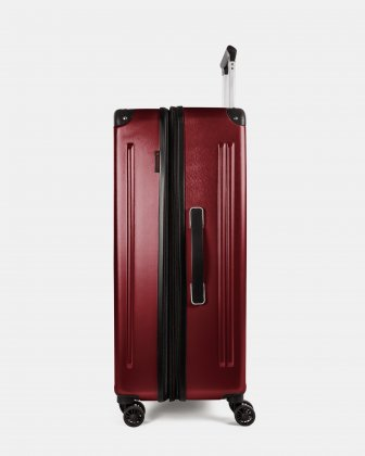 Ember - Lightweight Hardside Luggage 28'' with double spinner wheels (8 wheels) - Red Swiss Mobility