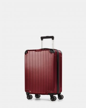 Ember - Lightweight Hardside Carry-on with double spinner wheels - Red Swiss Mobility