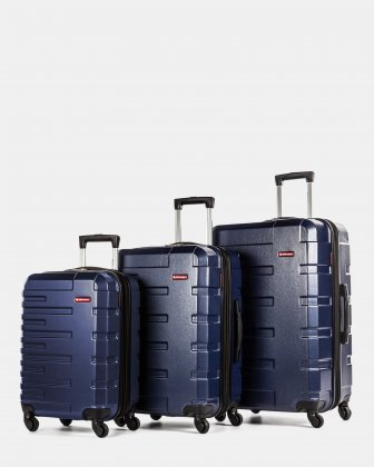 Quad – 3-Piece Hardside Luggage Set Swiss Mobility