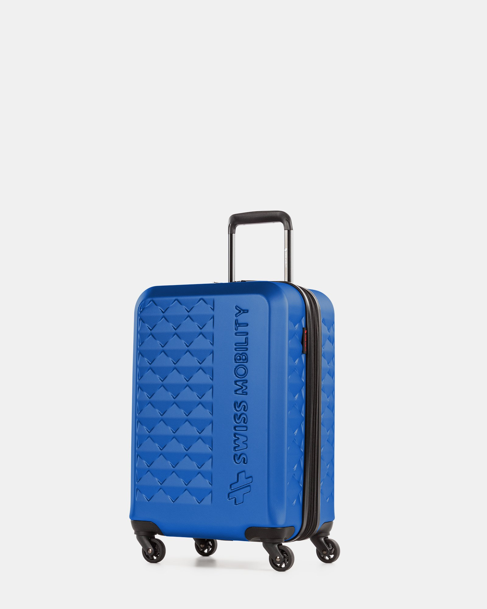 Ridge - Lightweight Hardside Carry-on with Spinner wheels - Blue - Swiss Mobility - Zoom