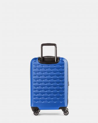 Ridge - Lightweight Hardside Carry-on with Spinner wheels - Blue - Swiss Mobility
