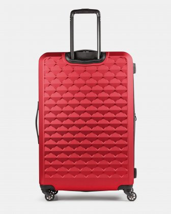 Ridge - Lightweight Hardside Luggage 28'' with Spinner wheels - Red - Swiss Mobility