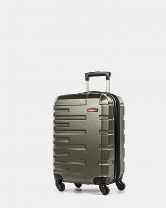 Quad- Hardside Carry on Swiss Mobility