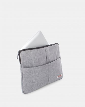 Sterling – Étui à ordinateur portable DE 14 PO AVEC PROTECTION RFID - GRIS Swiss Mobility