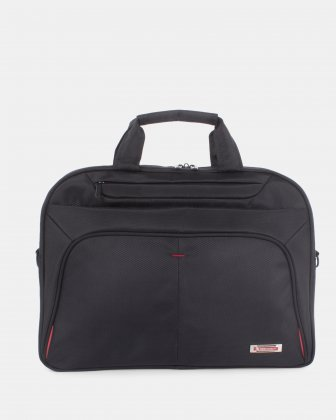 Purpose - Briefcase FOR 15.6 IN LAPTOP AND RFID PROTECTION - BLACK Swiss Mobility