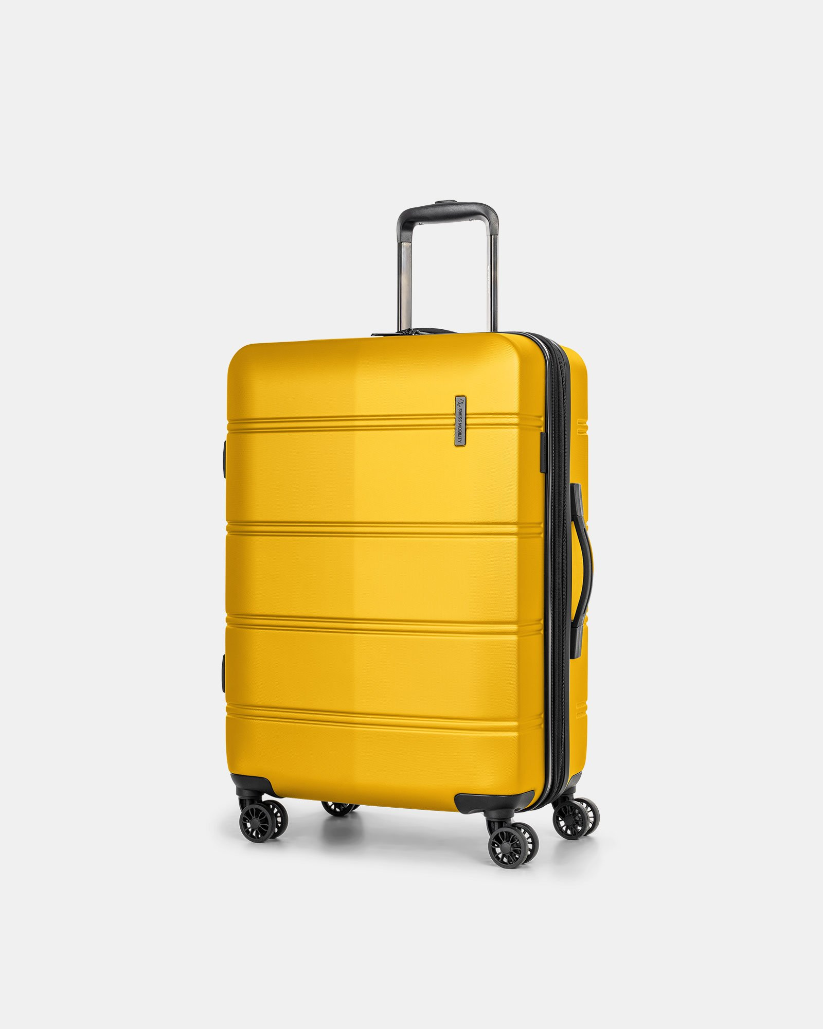 "LAX - 26"" LIGHTWEIGHT HARDSIDE LUGGAGE - YELLOW - Swiss Mobility - Zoom"