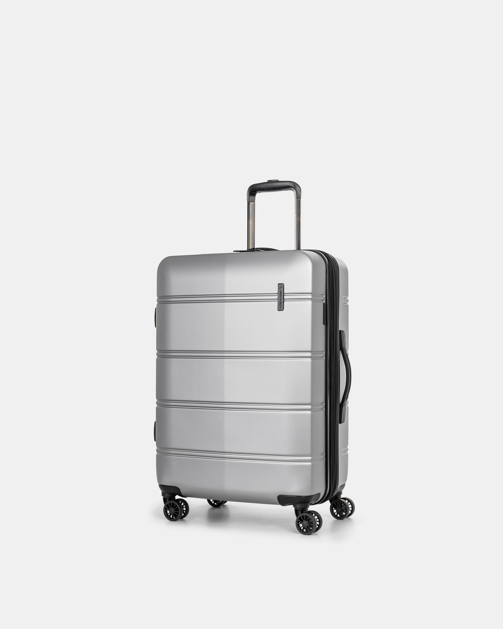 "LAX - 26"" LIGHTWEIGHT HARDSIDE LUGGAGE - SILVER - Swiss Mobility - Zoom"