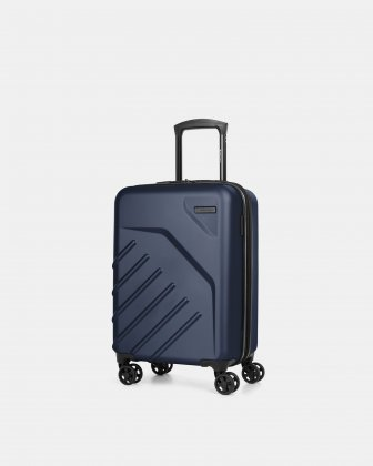 "LGA - 21.5"" LIGHTWEIGHT HARDSIDE CARRY-ON - NAVY Swiss Mobility"