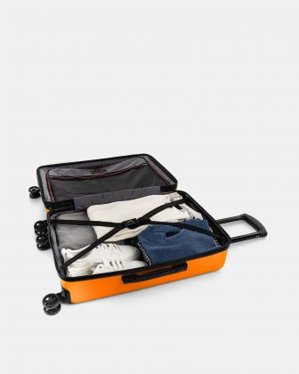 "LGA - 26"" LIGHTWEIGHT HARDSIDE LUGGAGE - ORANGE Swiss Mobility"