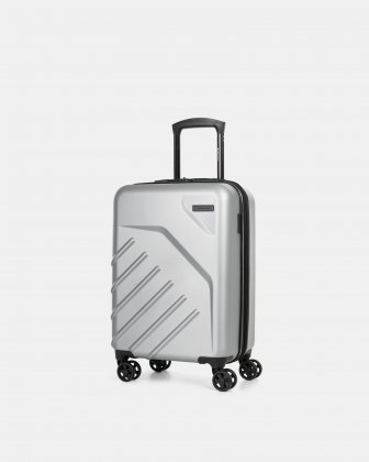 "LGA - 21.5"" LIGHTWEIGHT HARDSIDE CARRY-ON - SILVER Swiss Mobility"