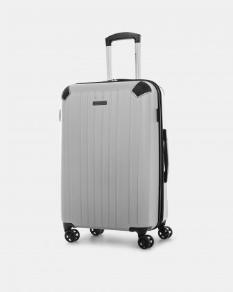 "PVG - 26"" LIGHTWEIGHT HARDSIDE LUGGAGE - SILVER Swiss Mobility"