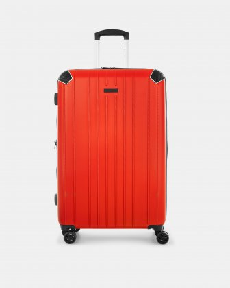 """PVG - 30"""" LIGHTWEIGHT HARDSIDE LUGGAGE - RED - Swiss Mobility"""