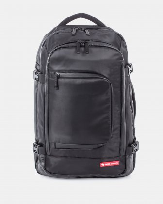 """cadence - Convertible Backpack fits most 15.6"""" laptop - Black Swiss Mobility"""